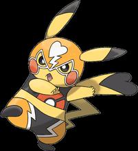 Wrestler-Pikachu