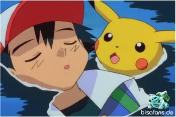 Ash ist ohnmächtig nach dem Angriff von Lawrence