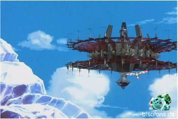 Das mächtige Luftschiff von Lawrence