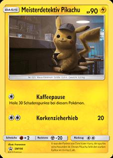 SM190 Meisterdetektiv Pikachu