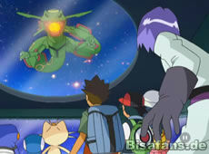 Screenshot von Rayquaza