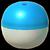 Pokéball Blau