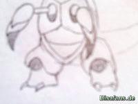 Zeichenkurs Armaldo - Schritt 5