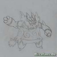 Zeichenkurs Flambirex - Schritt 6