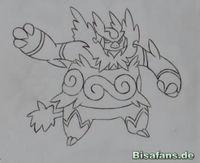 Zeichenkurs Flambirex - Schritt 7