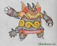 Zeichenkurs Flambirex - Schritt 8