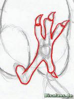 Zeichenkurs Ho-Oh - Schritt 16