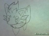 Zeichenkurs Zorua - Schritt 5