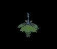 Burmadame Pflanzenumhang