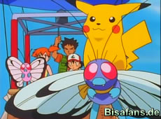 Pikachu auf Smettbo!