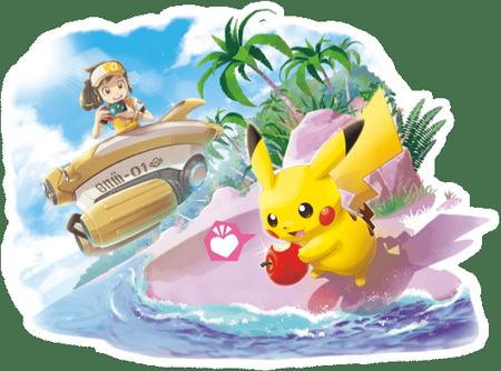 New Pokémon Snap Artwork