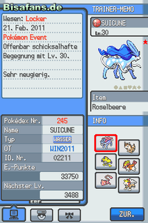 Pokédex Screenshot