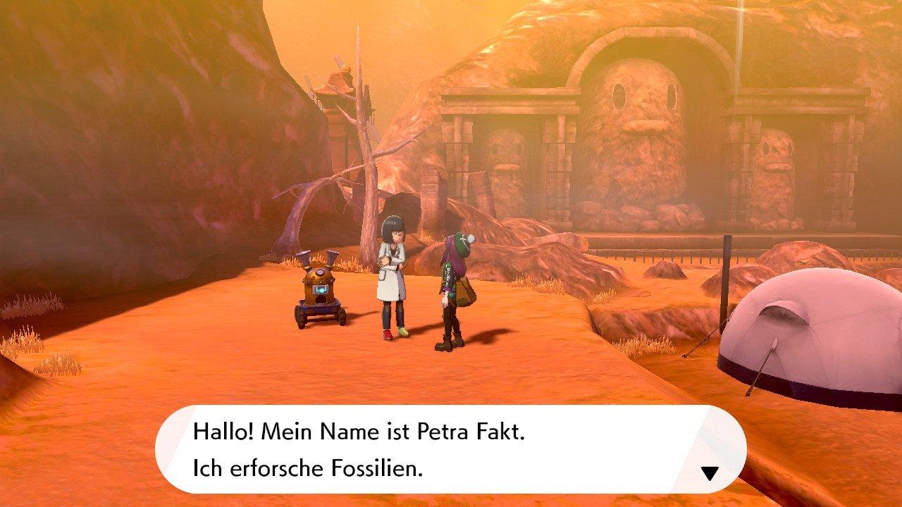 Screenshot zu Fossilien