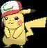 Ash-Pikachu (Partner-Mütze)