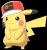 Ash-Pikachu (Weltreise-Mütze)
