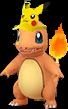 Glumanda Pikachu-Visor