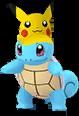 Schiggy Pikachu-Visor