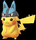 Pikachu Lucario-Mütze