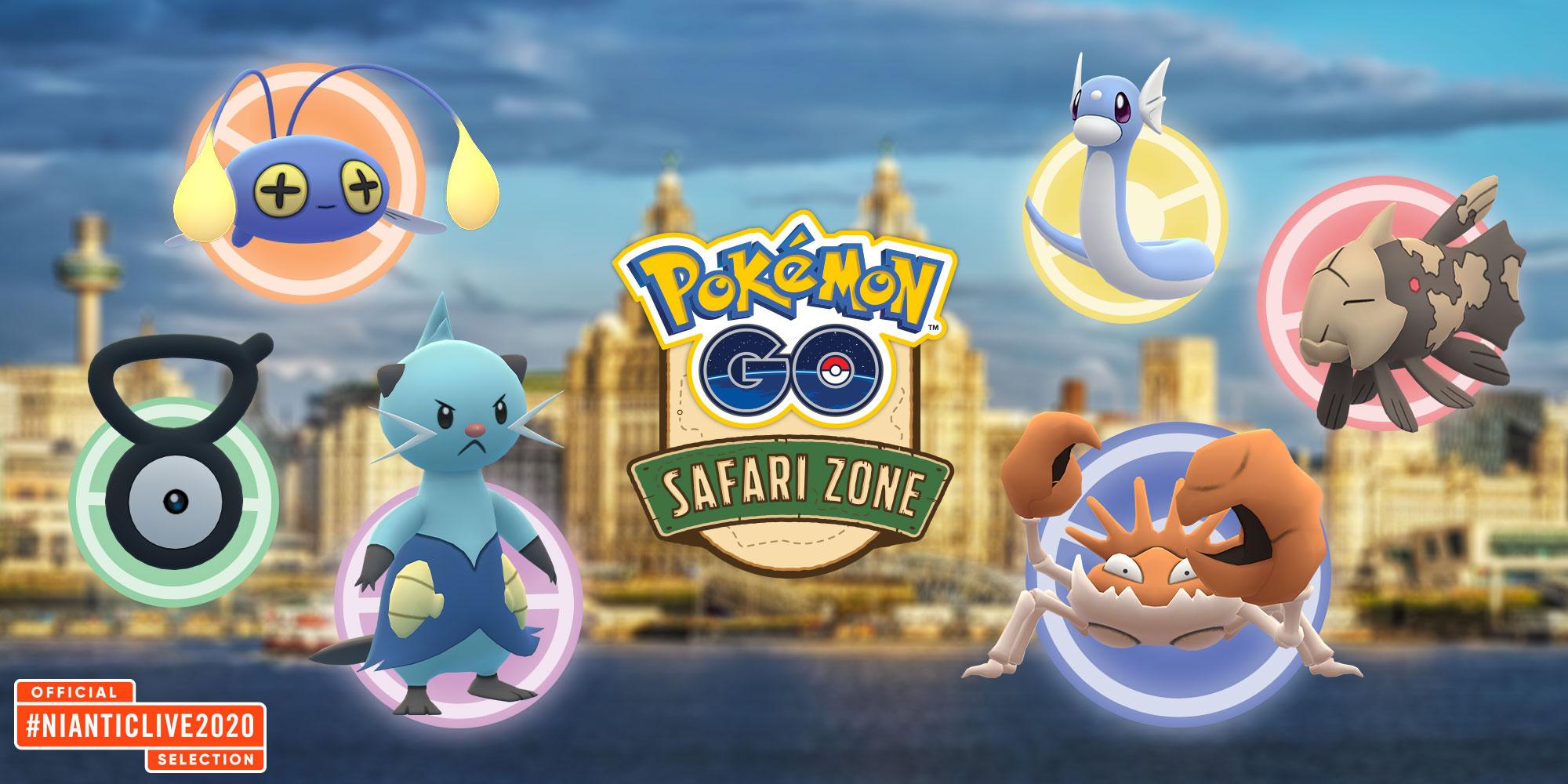 Safari Zone England 2020
