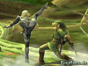 Link vs. Shiek