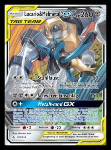120 Lucario & Melmetal GX