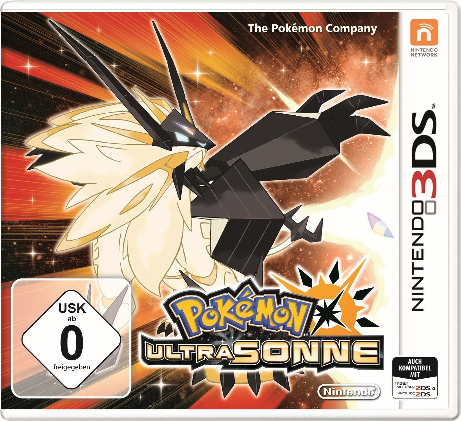 Pokémon Ultrasonne Und Ultramond Editionen Spiele
