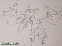 Zeichenkurs Mega-Aerodactyl - Schritt 4