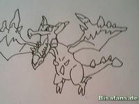 Zeichenkurs Mega-Aerodactyl - Schritt 6