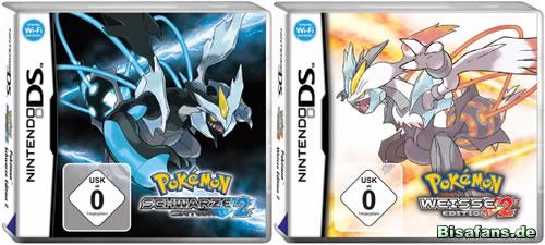 Pokémon Schwarze Edition 2 und Pokémon Weiße Edition 2