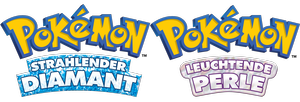 Logo Pokémon Strahlender Diamant & Leuchtende Perle