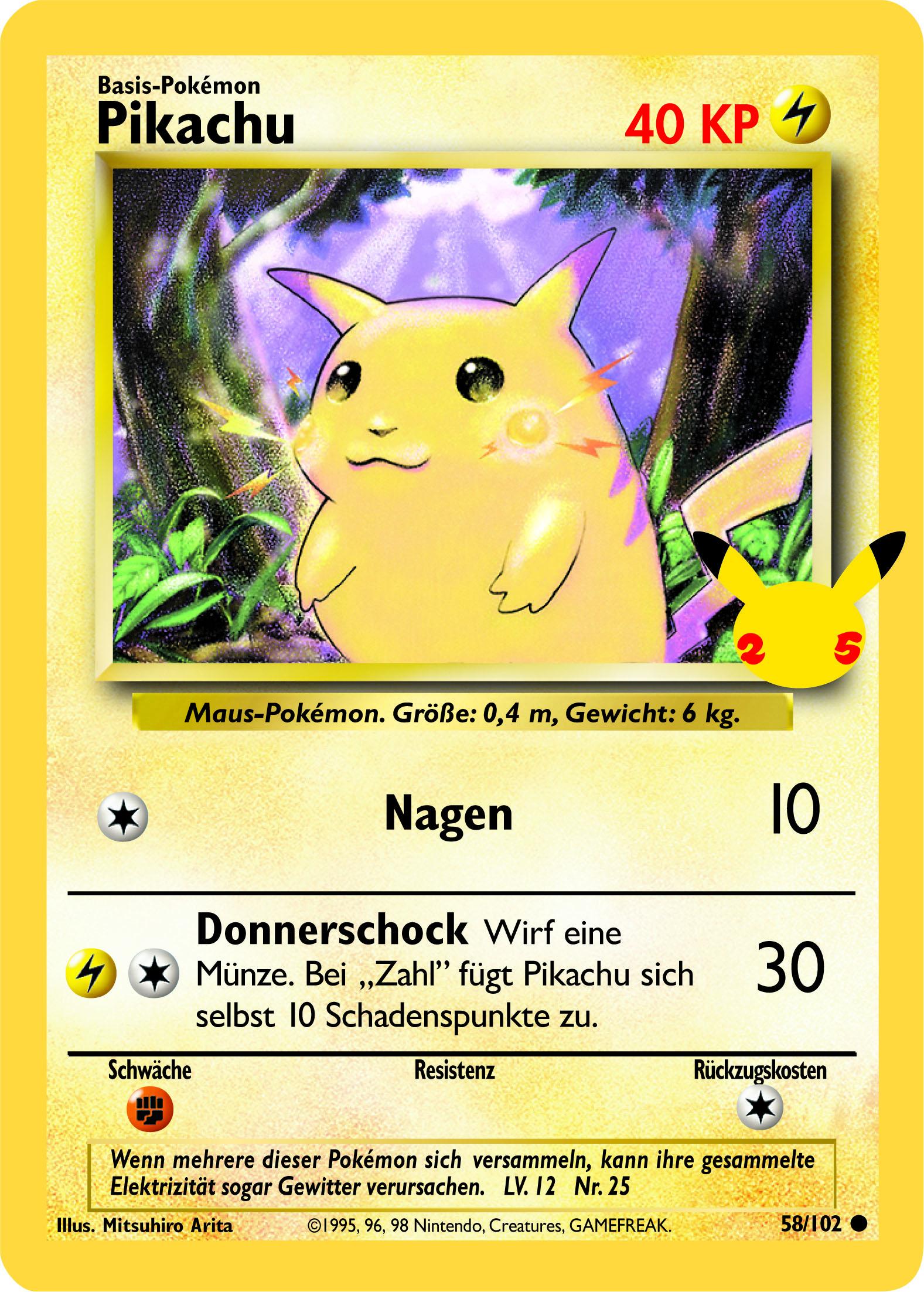 58/102 Pikachu