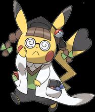 Professor-Pikachu