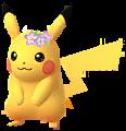 Pikachu-Blumenkranz