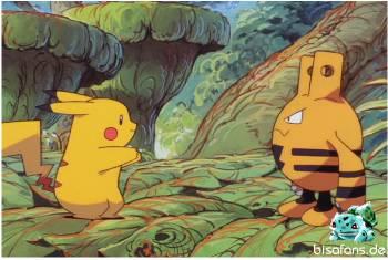 Pikachu und Elekid lernen sich kennen...