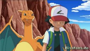 Screenshot von Glurak