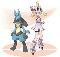 Connie & Lucario