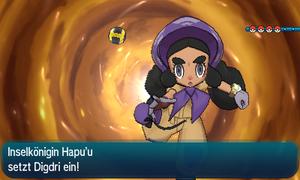 Inselkönigin Hapu'u