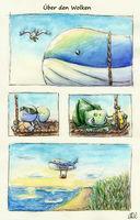 BisaComic #10 – Über den Wolken