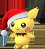 Pichu-Weihnachtsmütze