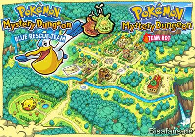 Pokemon Mystery Dungeon: Team Blau (Nintendo DS)