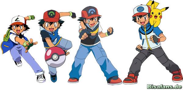 Ash: Optische Veränderungen