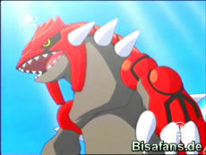 Screenshot von Groudon