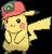 Pikachu (Ashs Kappe Hoenn)