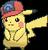 Pikachu (Ashs Kappe Sinnoh)